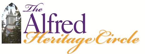 The Alfred Heritage Circle logo